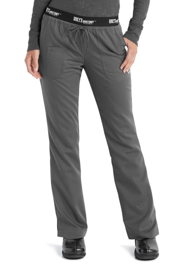 Grey's Anatomy Active Pant Granite