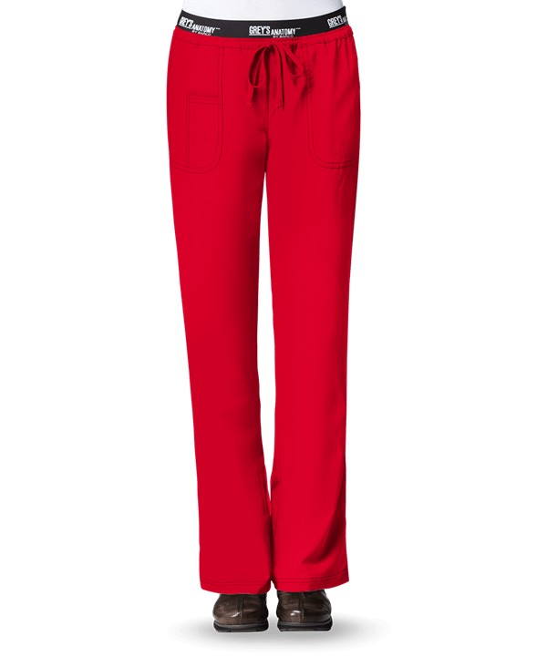 Grey's Anatomy Active Pant Scarlet Red