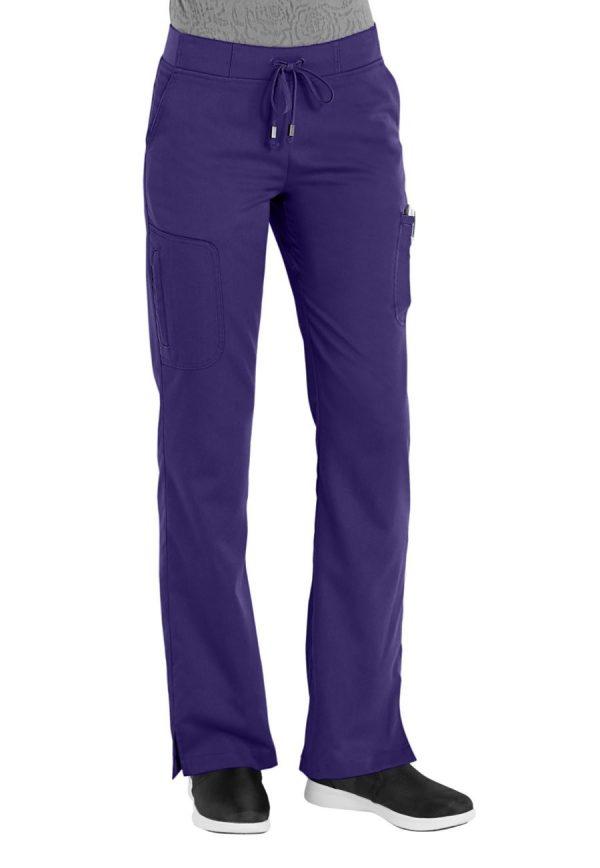 Grey's Anatomy Pant Purple Rain