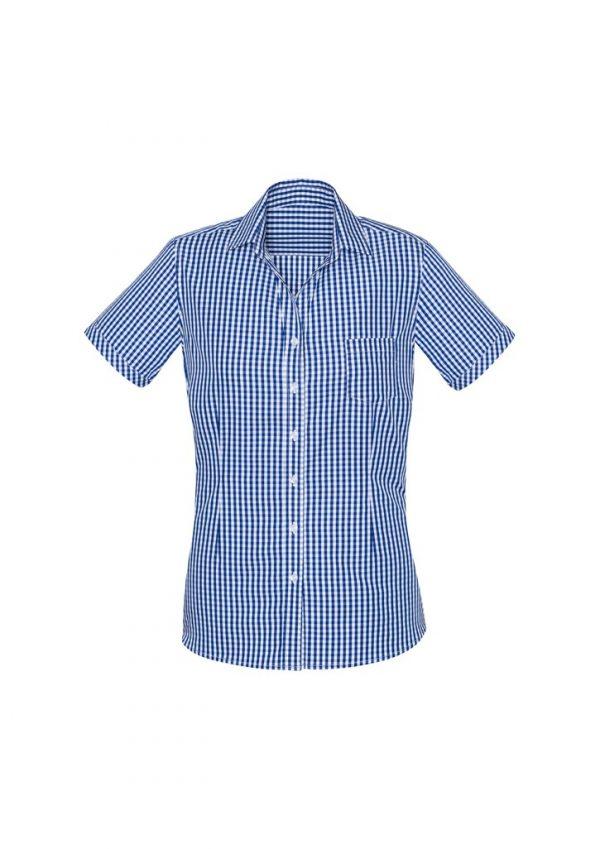 Springfield Women's Short Sleeve Shirt French Navy