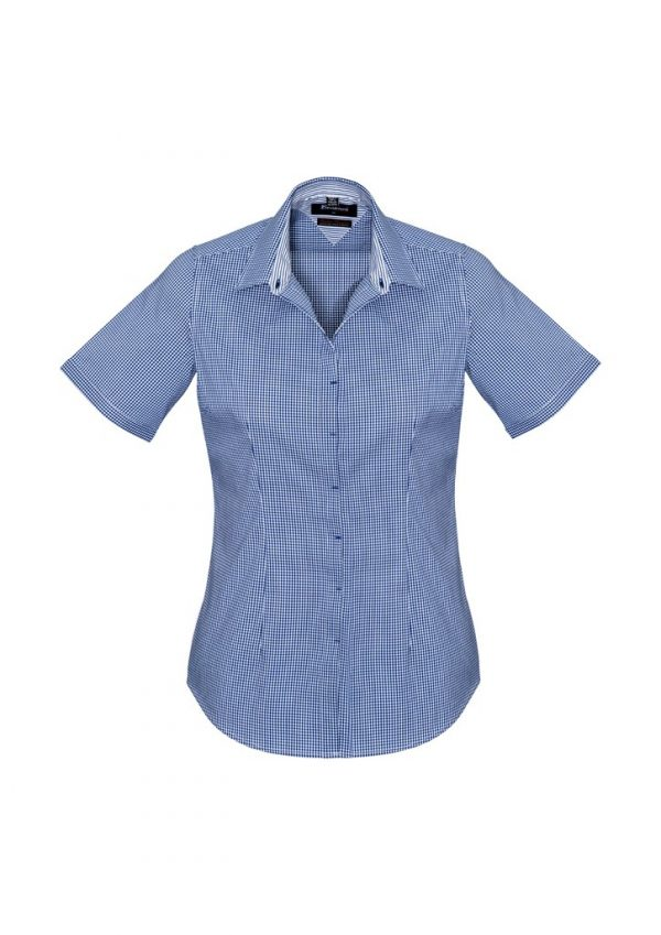 Newport Ladies Short Sleeve Shirt French Navy
