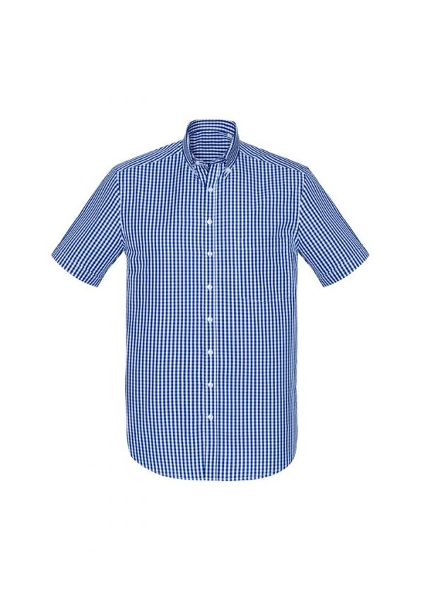 Springfield Men's Short Sleeve Shirt French Navy
