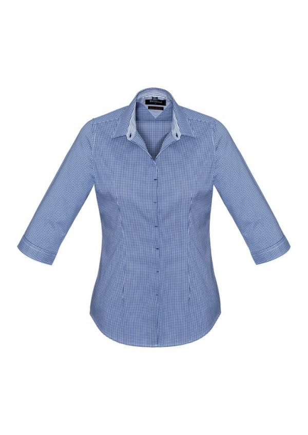 Newport Ladies 3/4 Sleeve Shirt French Navy