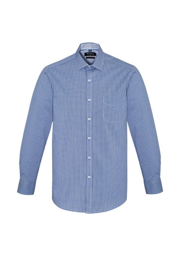 Newport Mens Long Sleeve Shirt French Navy
