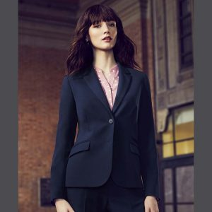 Sienna Suiting Women's 2 Button Mid Length Jacket