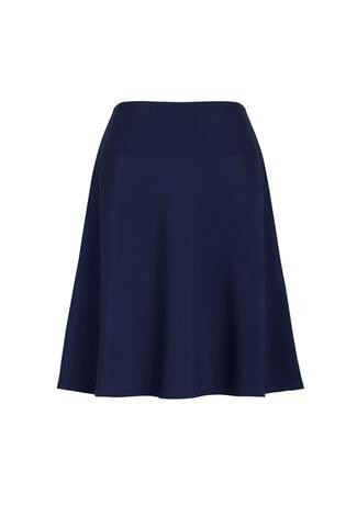 Women's Bandless Flared Skirt Marine