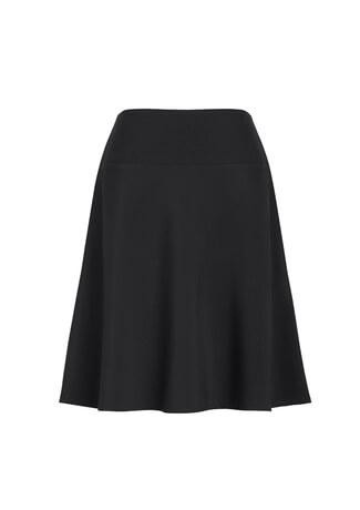 Women's Bandless Flared Skirt Slate