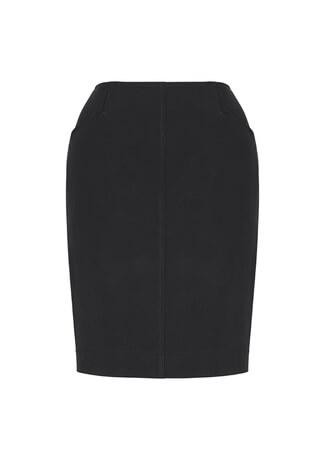 Women's Bandless Pencil Skirt Slate