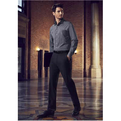 Sienna Suiting Men's Slim Fit Front Pant