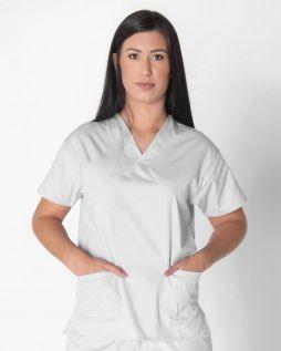 Mediscrubs 3 Pocket Top White