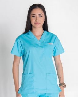 Mediscrubs 4 Pocket Top Aqua