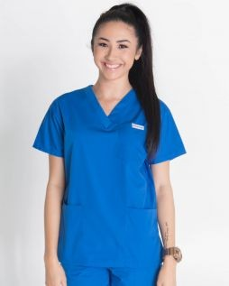 Mediscrubs 4 Pocket Top Royal