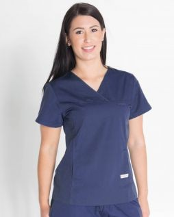 Mediscrubs Women's Fit Solid Colour Navy