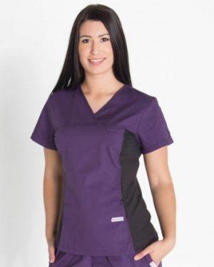 Mediscrubs Women's Fit with Spandex Aubergine
