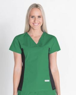 Mediscrubs Women's Fit with Spandex Hunter