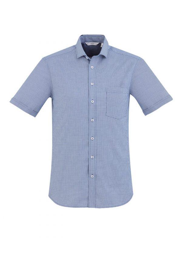 Jagger Shirt Men's Long Sleeve French Blue