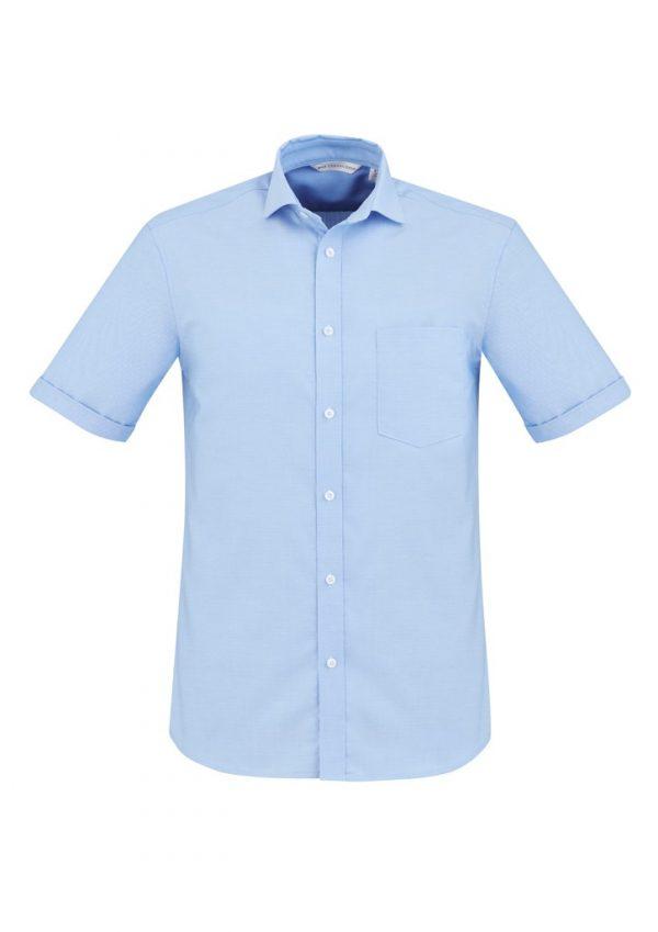Regent Shirt Men's Short Sleeve Blue
