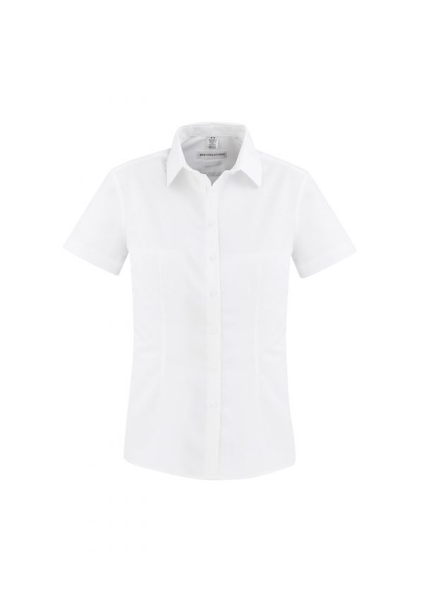 Regent Shirt Ladies Short Sleeve White