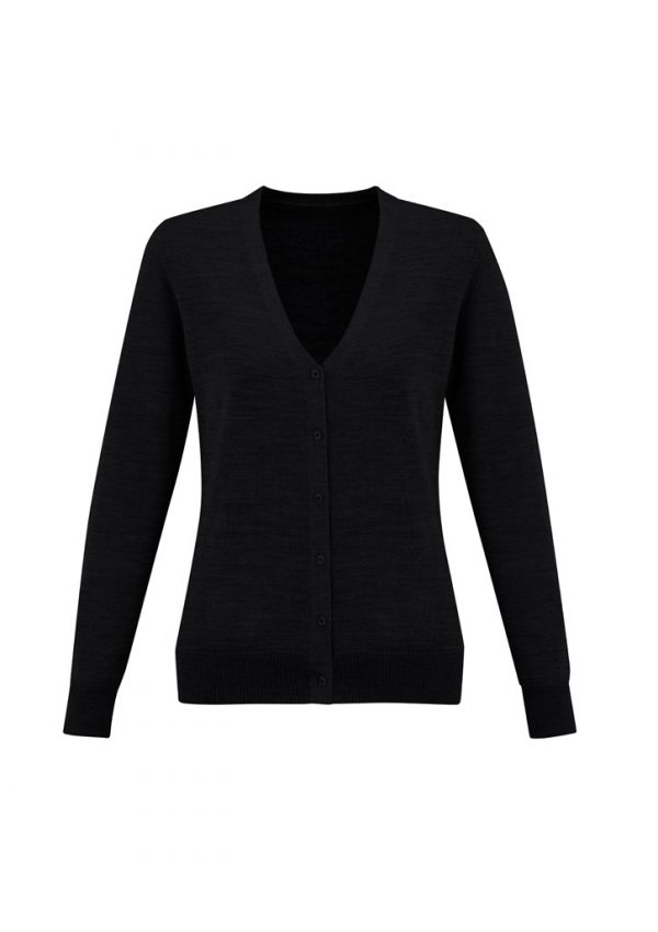 Ladies Roma Knit Black