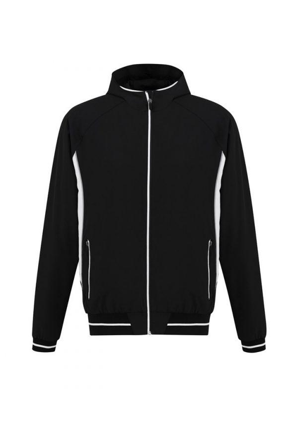 Mens Titan Team Jacket Black/ White