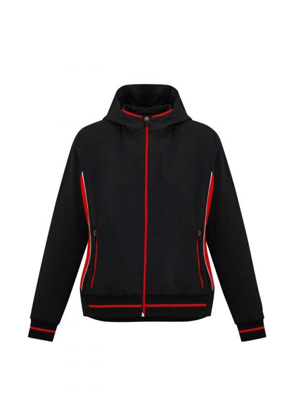 Ladies Titan Team Jacket Black/ Red