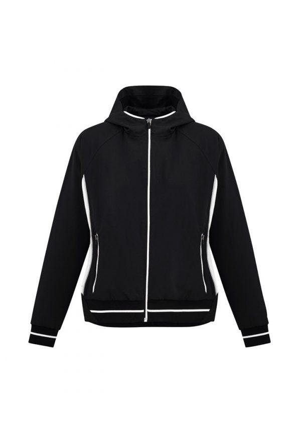 Ladies Titan Team Jacket Black/ White