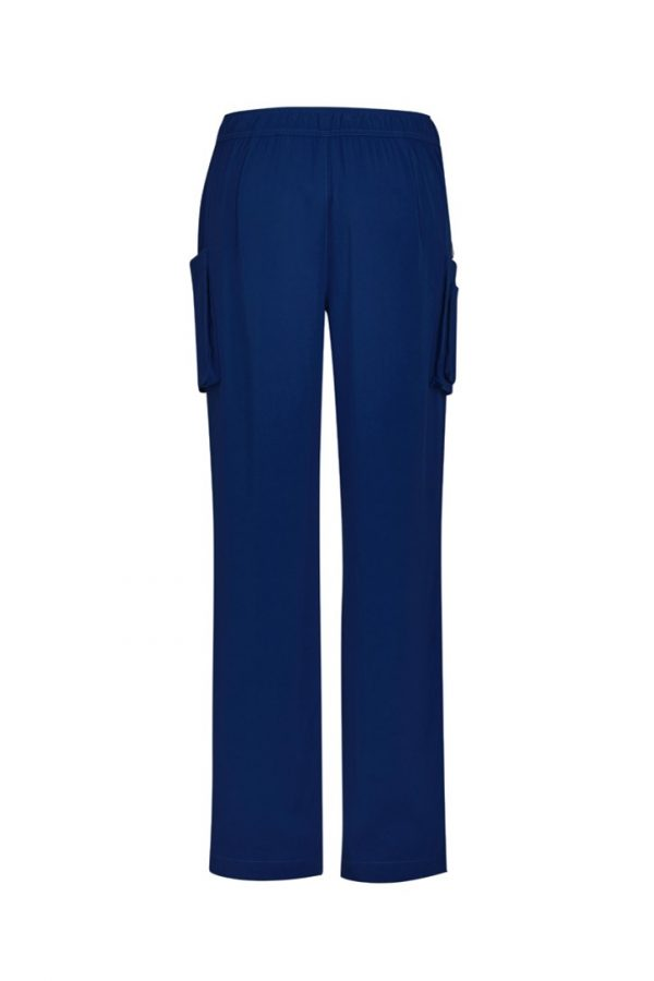 Women's Straight Leg Roll Up Scrub Pant Navy