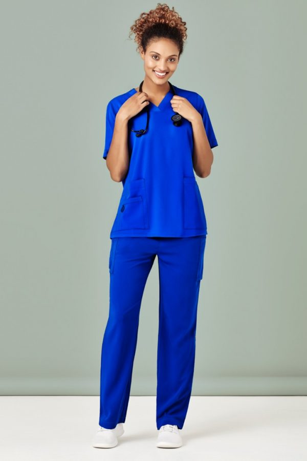 Women's Straight Leg Roll Up Scrub Pant