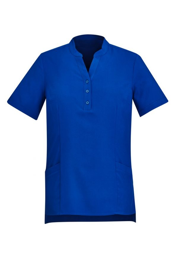 Women's Easy Stretch Tunic Electric Blue