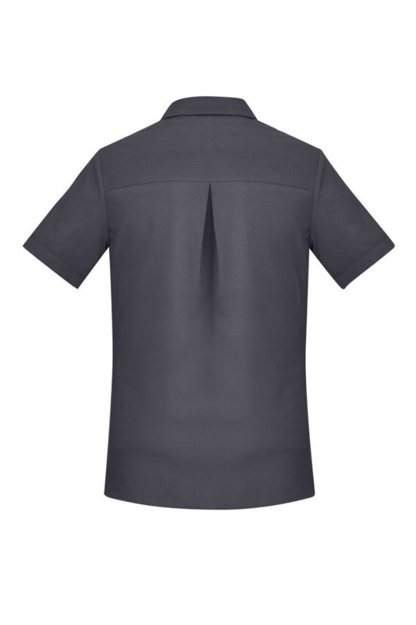 Women's Easy Stretch Short Sleeve Shirt Charcoal