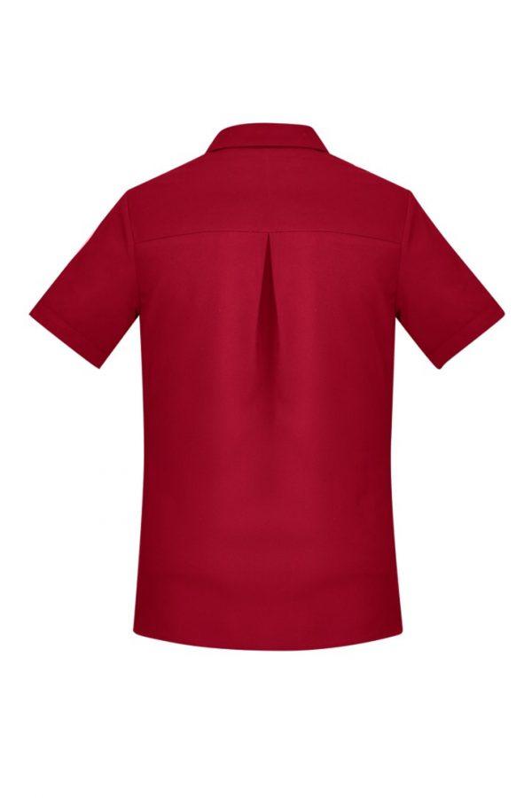 Women's Easy Stretch Short Sleeve Shirt Cherry