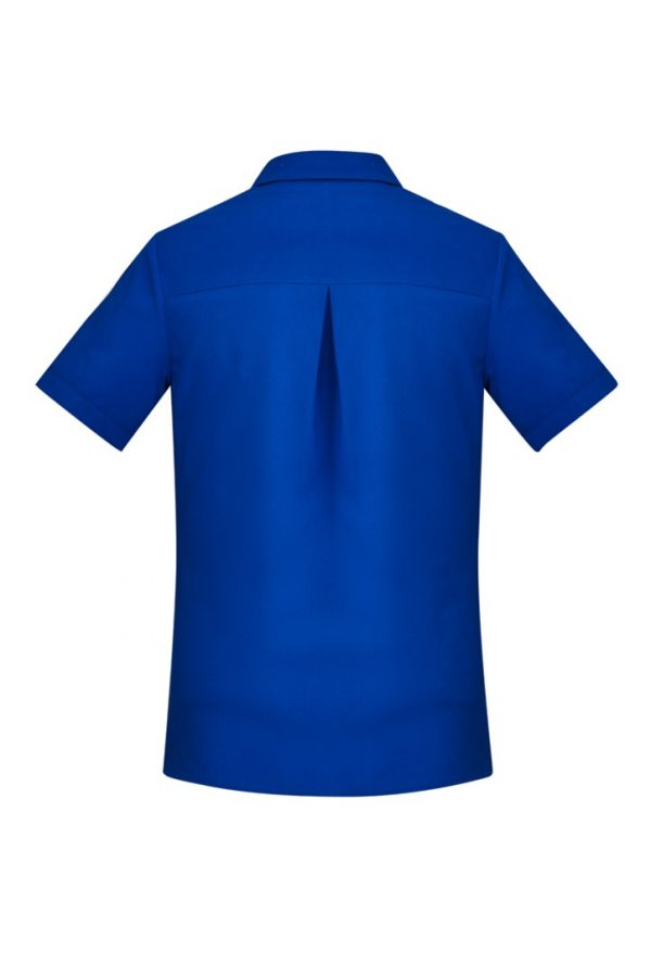 Women's Easy Stretch Short Sleeve Shirt Electric Blue
