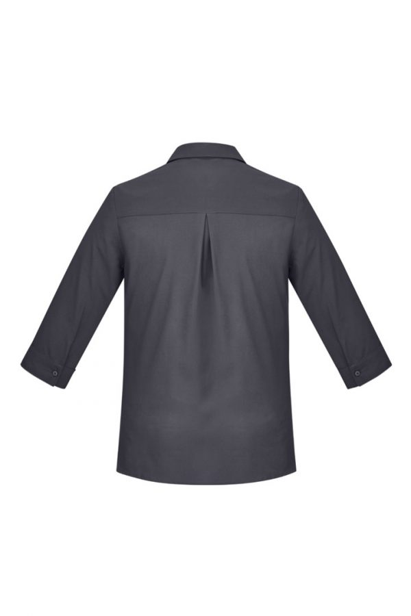 Women's Easy Stretch 3/4 Sleeve Shirt Charcoal