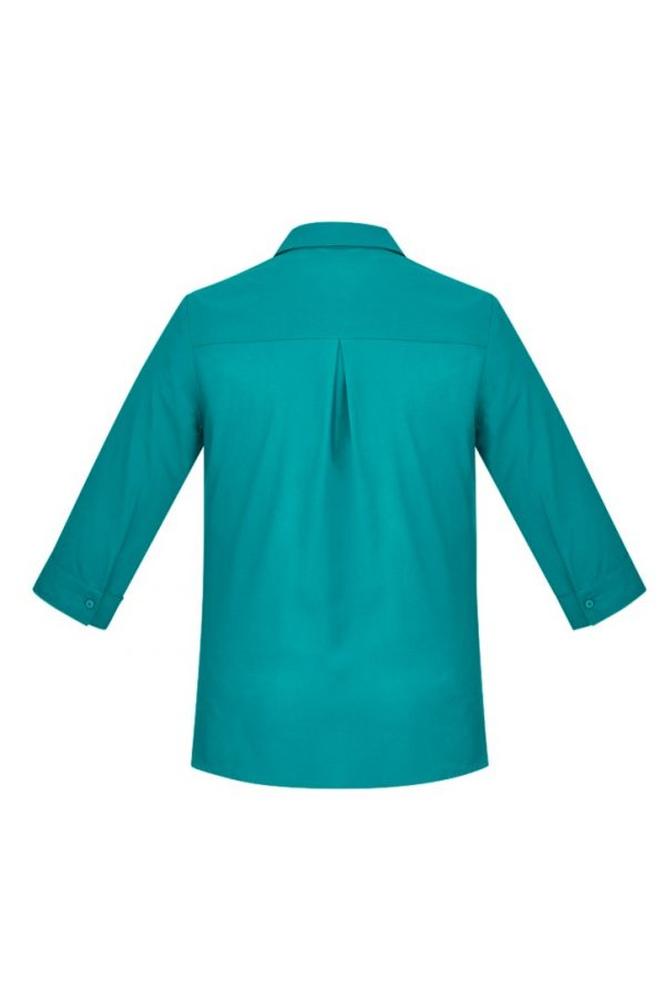 Women's Easy Stretch 3/4 Sleeve Shirt Teal