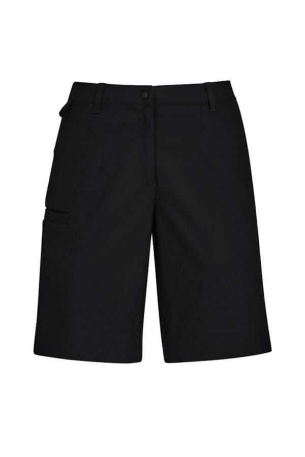 Women's Cargo Short Black