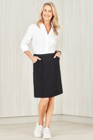 Women's Comfort Waist Cargo Skirt