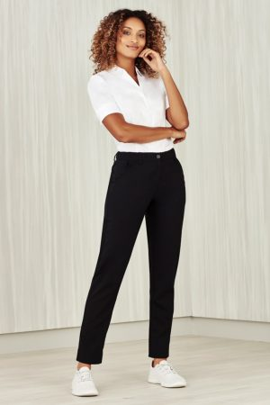 Women's Comfort Waist Slim Leg Pant