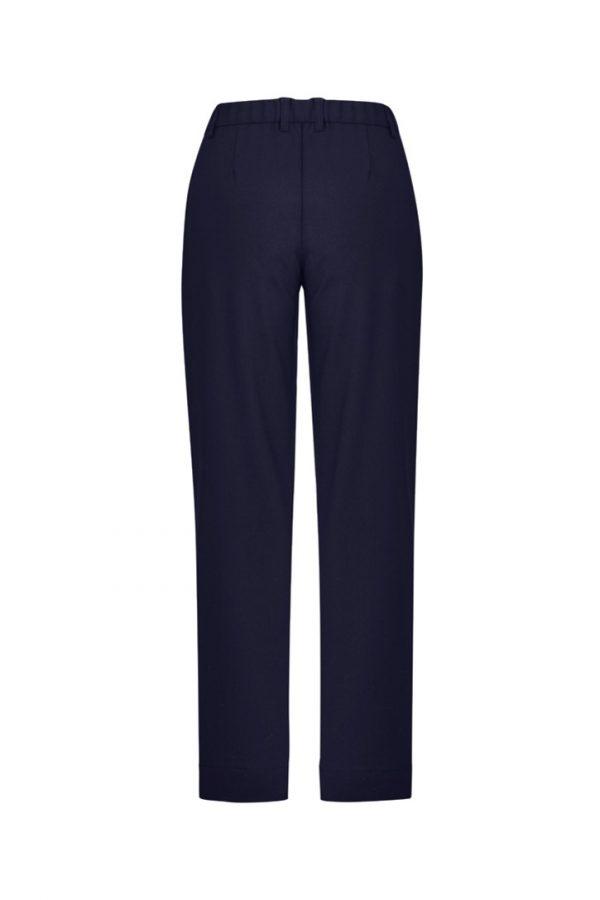 Women's Comfort Waist Straight Leg Pant Navy